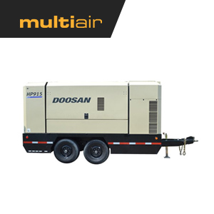 Doosan HP915WCU T4F 915 CFM Air Compressor