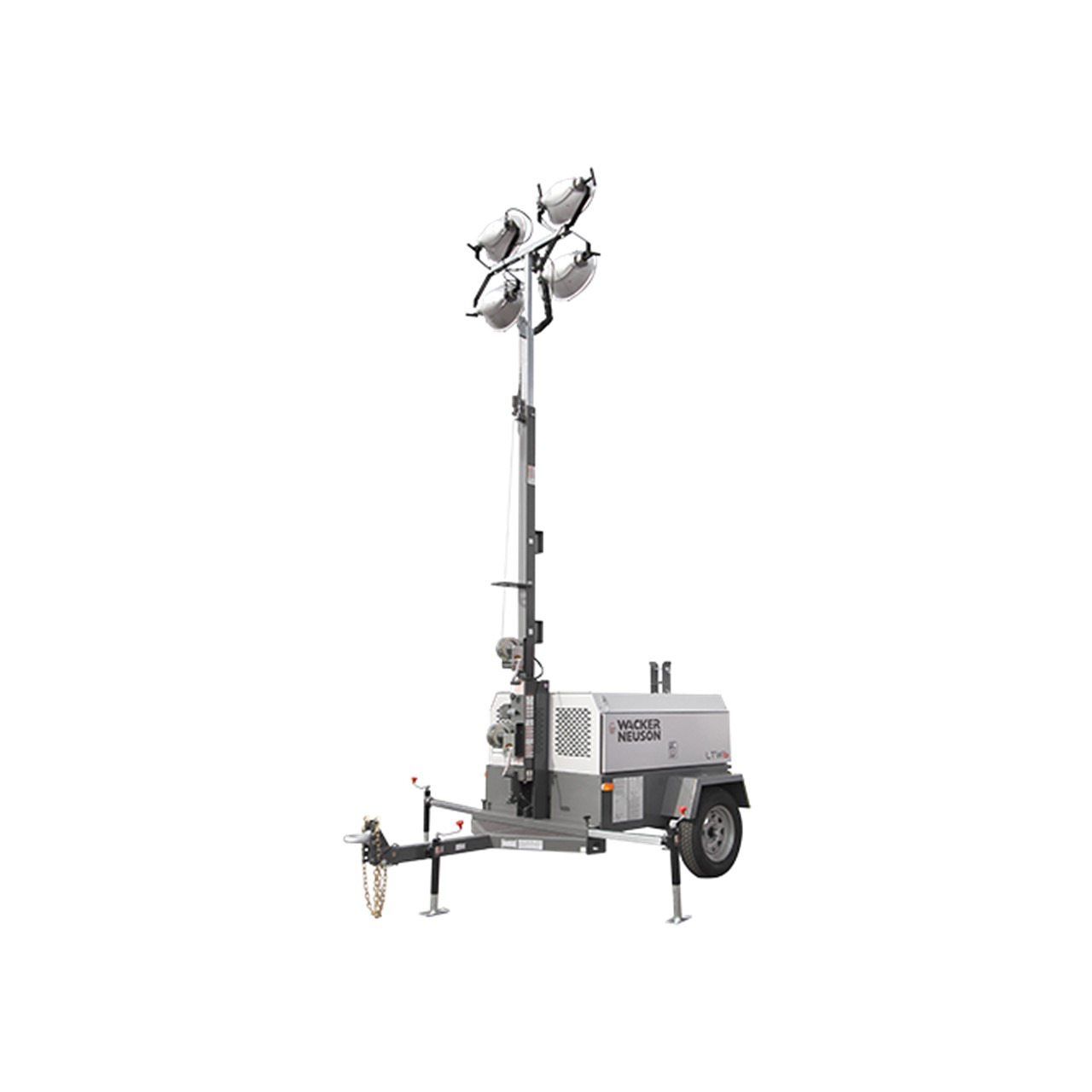 Wide Body, Vertical Mast Trailer Lighting Towers