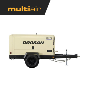 Doosan XP375 375 CFM Air Compressor