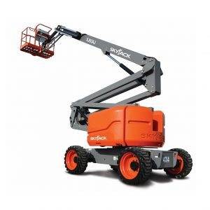 SJ63 AJ Boom Lift Job Site Equipment