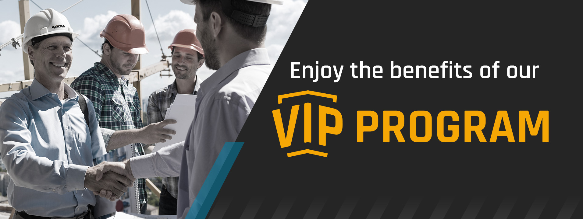 Axiom Equipment Group VIP Program