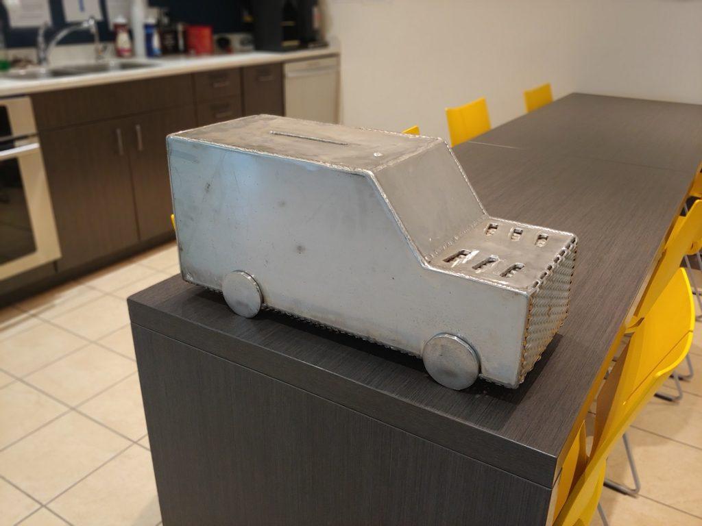 Saskarc Group Handi Van Donation Box