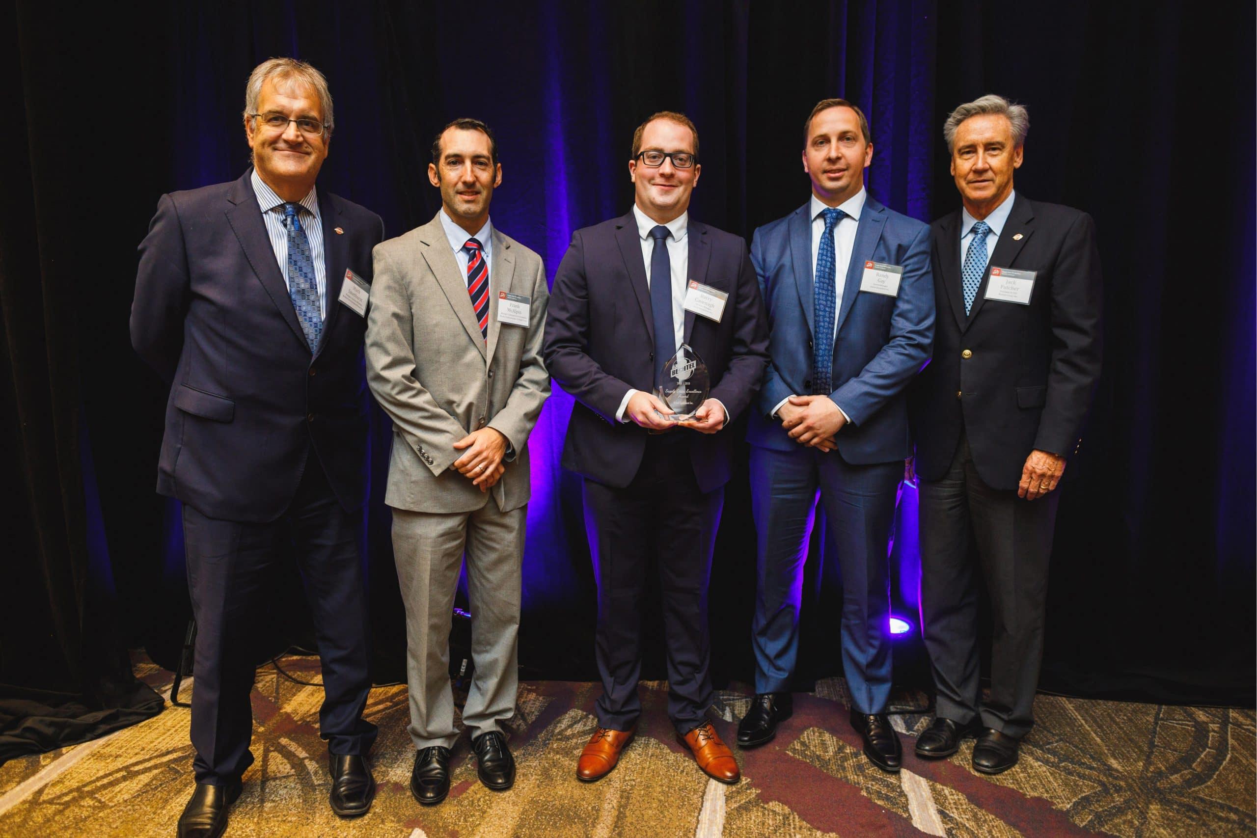 Axiom Equipment Group Accepts Bechtel Award