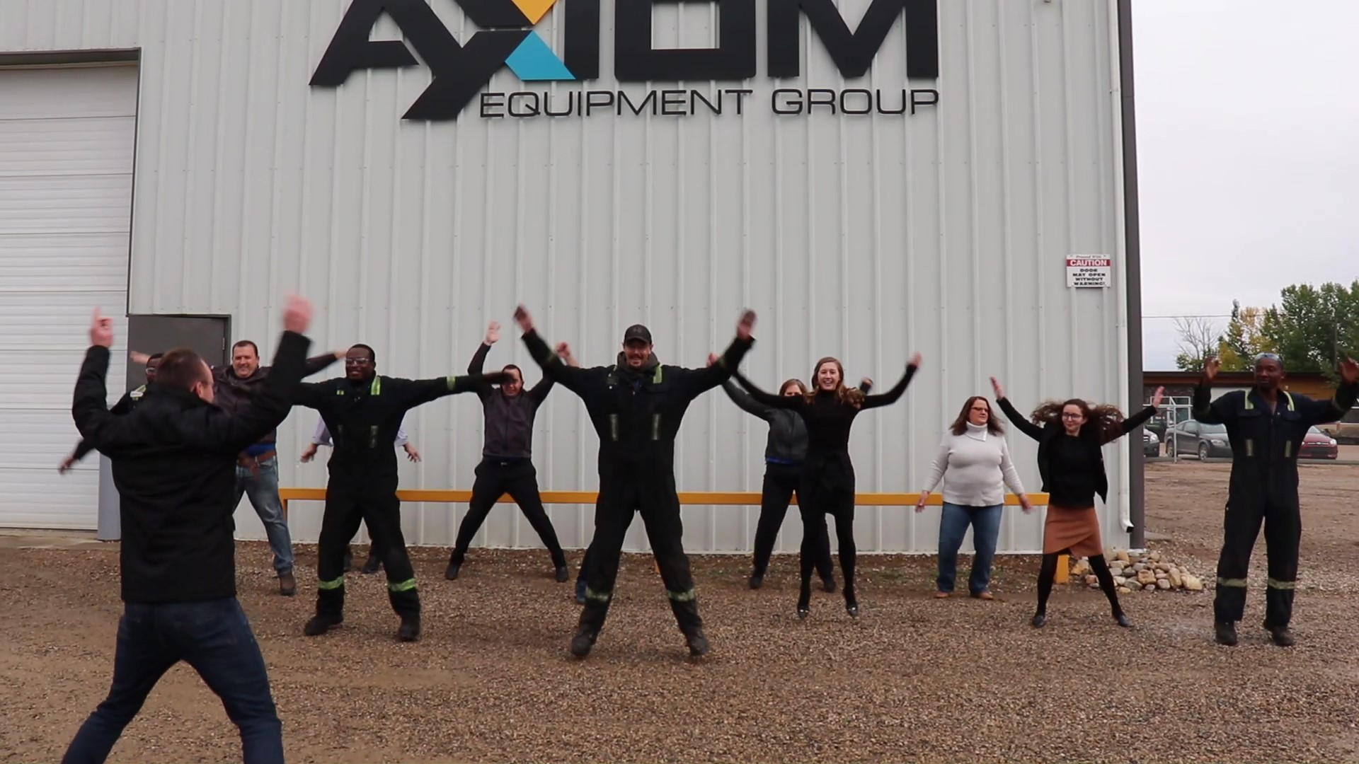 Axiom Community Support Fitness Friday
