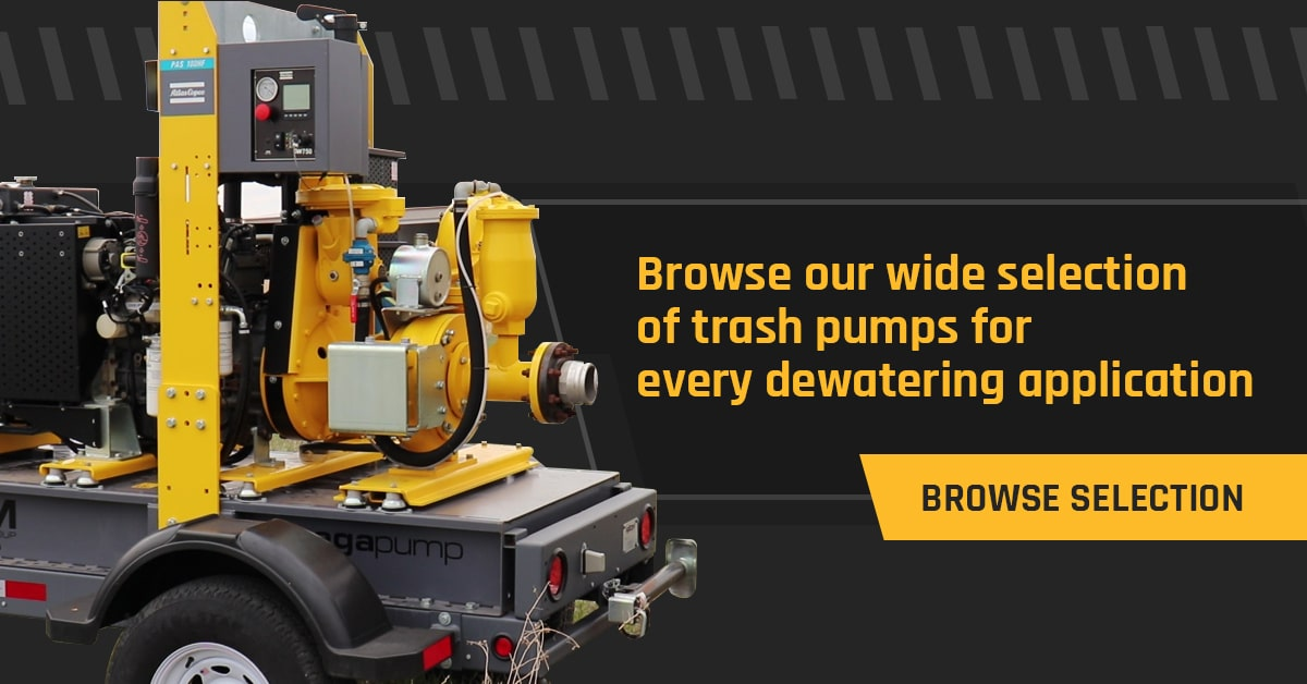 Axiom Equipment Group Trash Pump