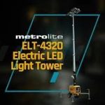 wacker neuson light tower, electric light tower, LED light tower, metrolite, allmand light tower